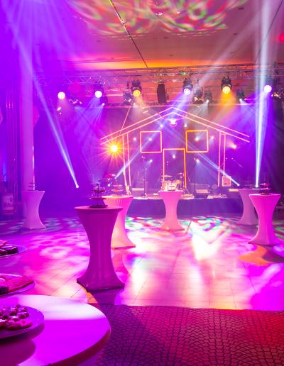 Halle, Licht, design, messe, event, licht, ton, led, video, bühne, eventtechnik, gleich, messebau, karlsruhe, dry, hire, party